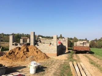 Кладка керамзито-бетонных блоков в Солнечногорске
