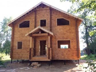 Дом из профилированного бруса 145х145