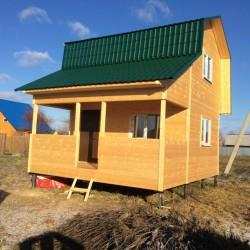 Каркасные дома под ключ в Солнечногорске