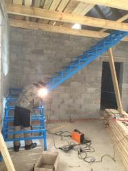 Изготовление и монтаж лестниц в Клину