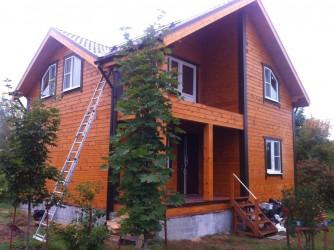 Финишная отделка Деревянных домов