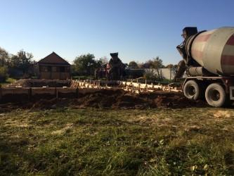Заливка фундаментов в Солнечногорске