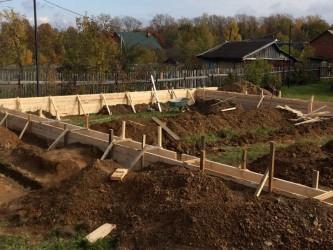 Ленточные фундаменты в Солнечногорске