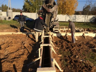 Работы с бетоном в Солнечногорске