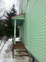 Внешняя отделка домов сайдингом в Новопетровском