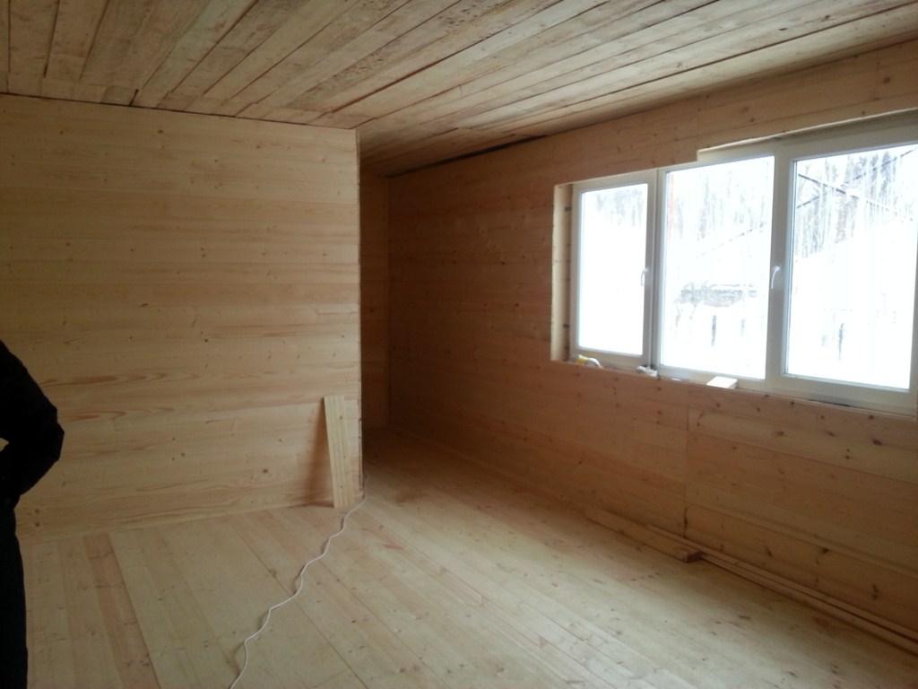 Внутреняя отделка дома в Новопетровске